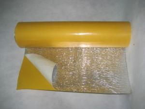 Фото: Структура листов фольгоизолона