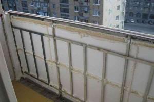 Утепление парапета балкона — технология выполнения работ своими руками