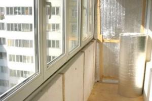 Утепление стен лоджий изнутри: материалы и способы их монтажа
