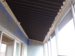 Фото: Как утеплить крышу балкона?