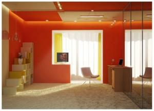 Фото: Объединение французской лоджии и жилой комнаты