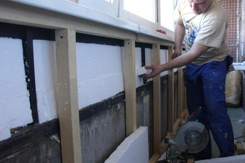 Утепление металлического балкона своими руками