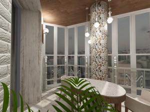 Утепление балкона — фото примеров, как можно обустроить интерьер утепленного помещения
